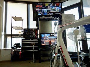 virtual indoor cycling