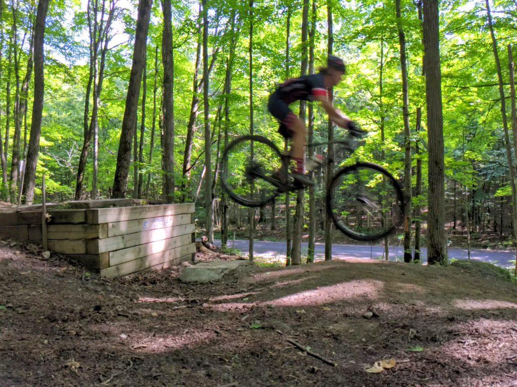 hardtail jump