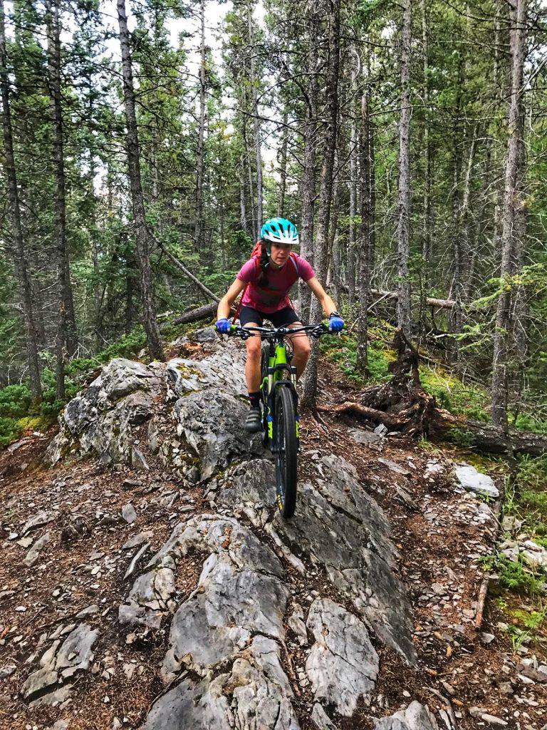 mountain biking safely