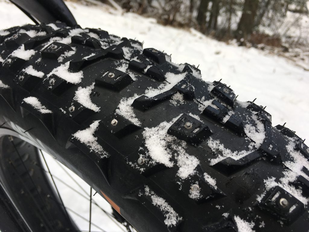 studded fat bike tires
