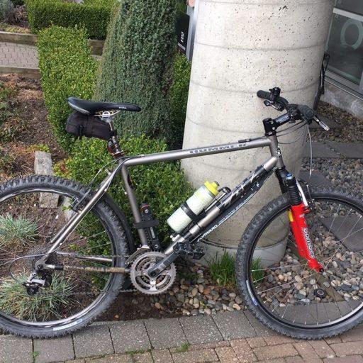 cove bikes titanium hummer