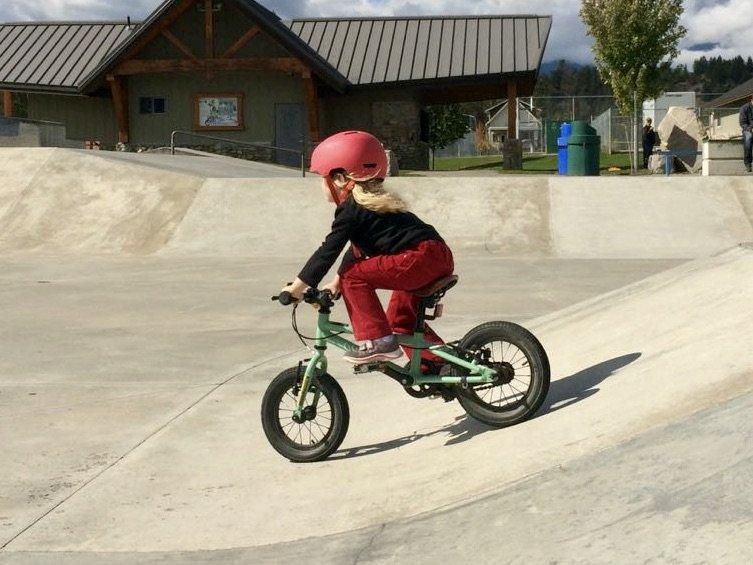 kids biking progression