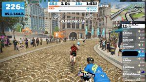 zwift indoor cycling