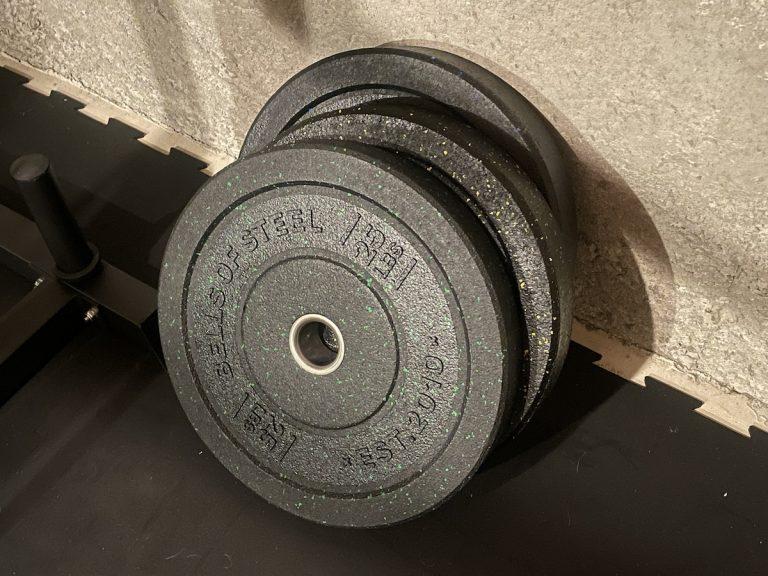 bells of steel crumb bumper plates