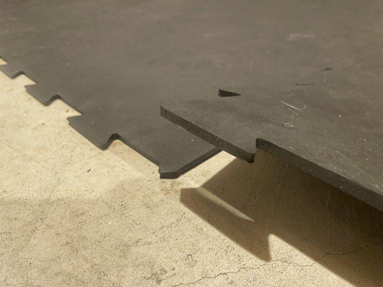 bells of steel interlocking puzzle rubber flooring gym mat