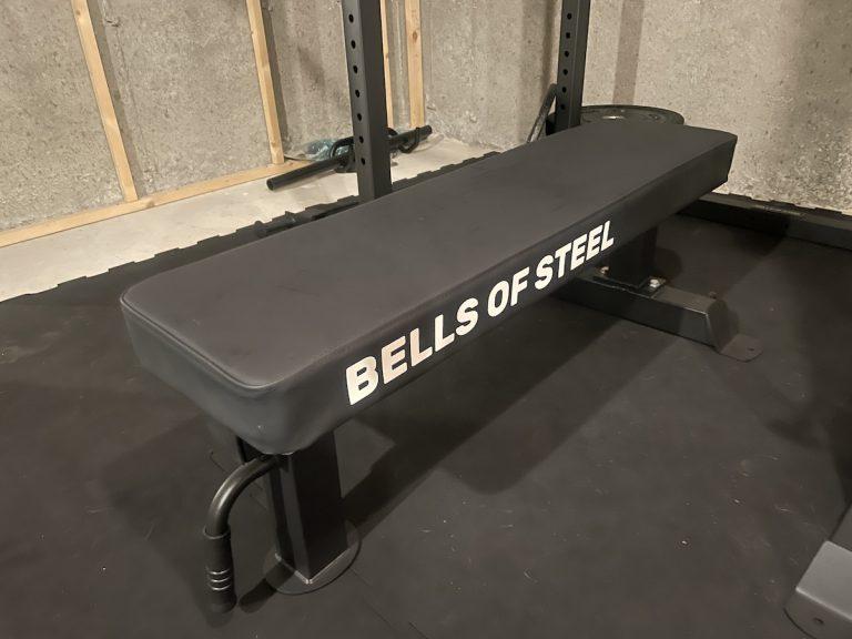 bells of steel mighty grip flat weight bench 2.0